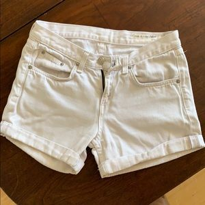 White rag & bone shorts - size 24